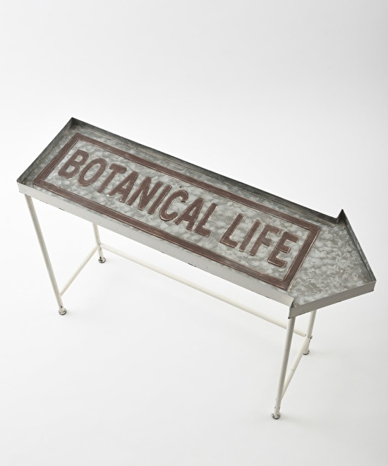 Botanical life metal stand shelf S