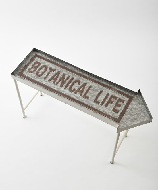 Botanical life metal stand shelf M