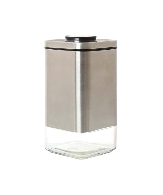 CUBE JAR WITH PRESS LID M