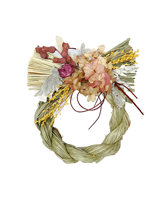 Dry Flower Shimenawa Ring L