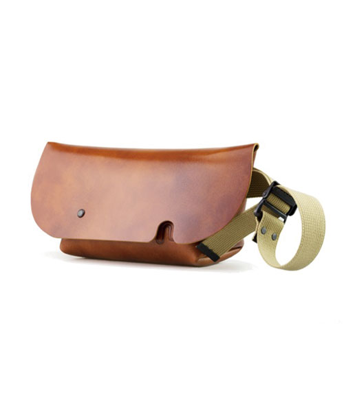 MESSENGER BAG (XS)CAMEL