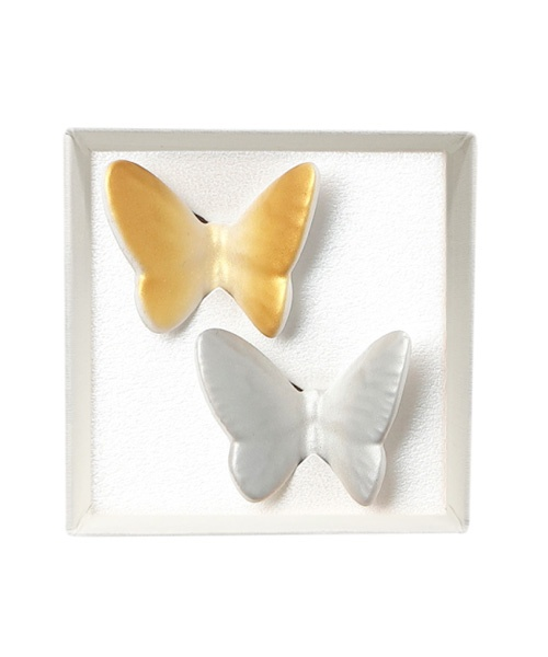 Butterfly Rest 2pcs set GD/SV