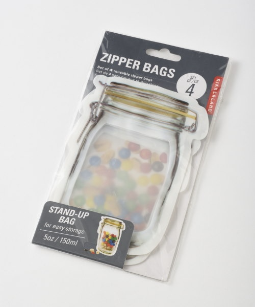 Zipper Bags S set of 4