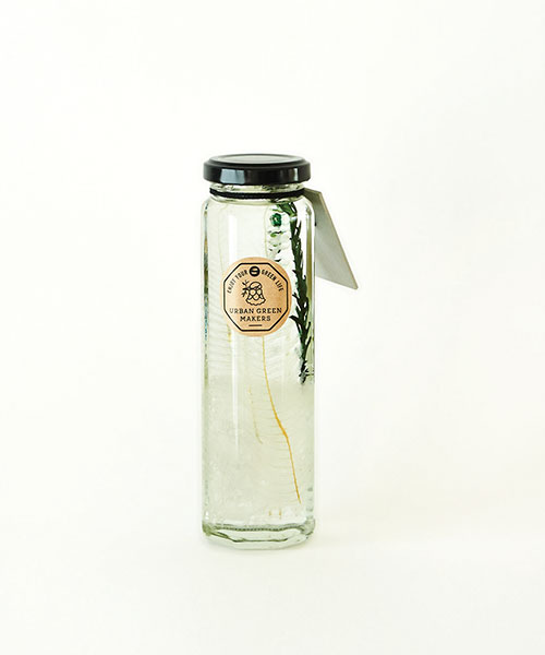 HERBARIUM (GLASS BOTTLE) WHITE WHITE
