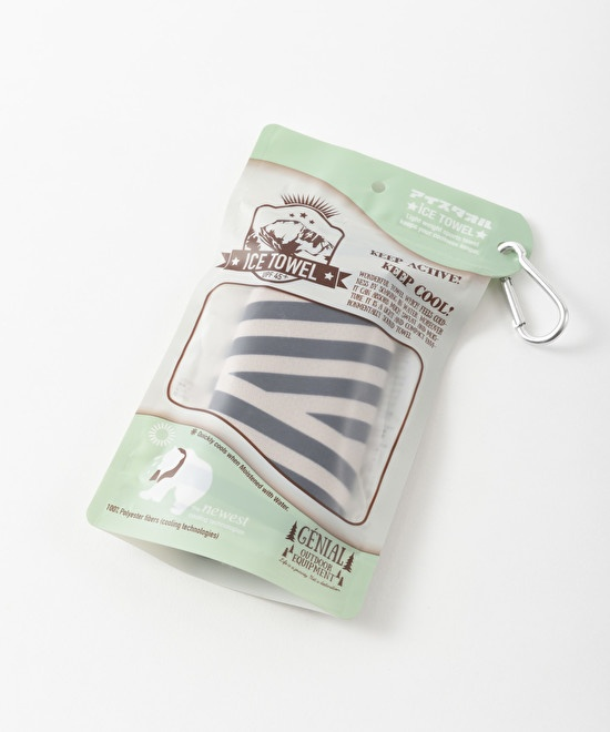 Ice Towel w carabiner