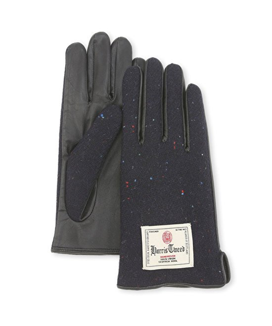 Harris tweed woman's glove