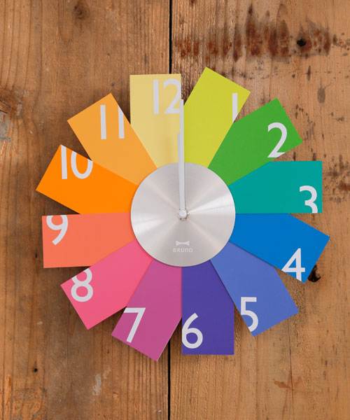 Card Wall Clock