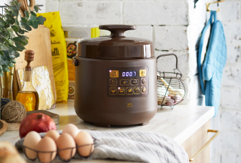 Multi Pressure Cooker:ほったらかし調理で毎日にゆとりをつくる電気圧力鍋