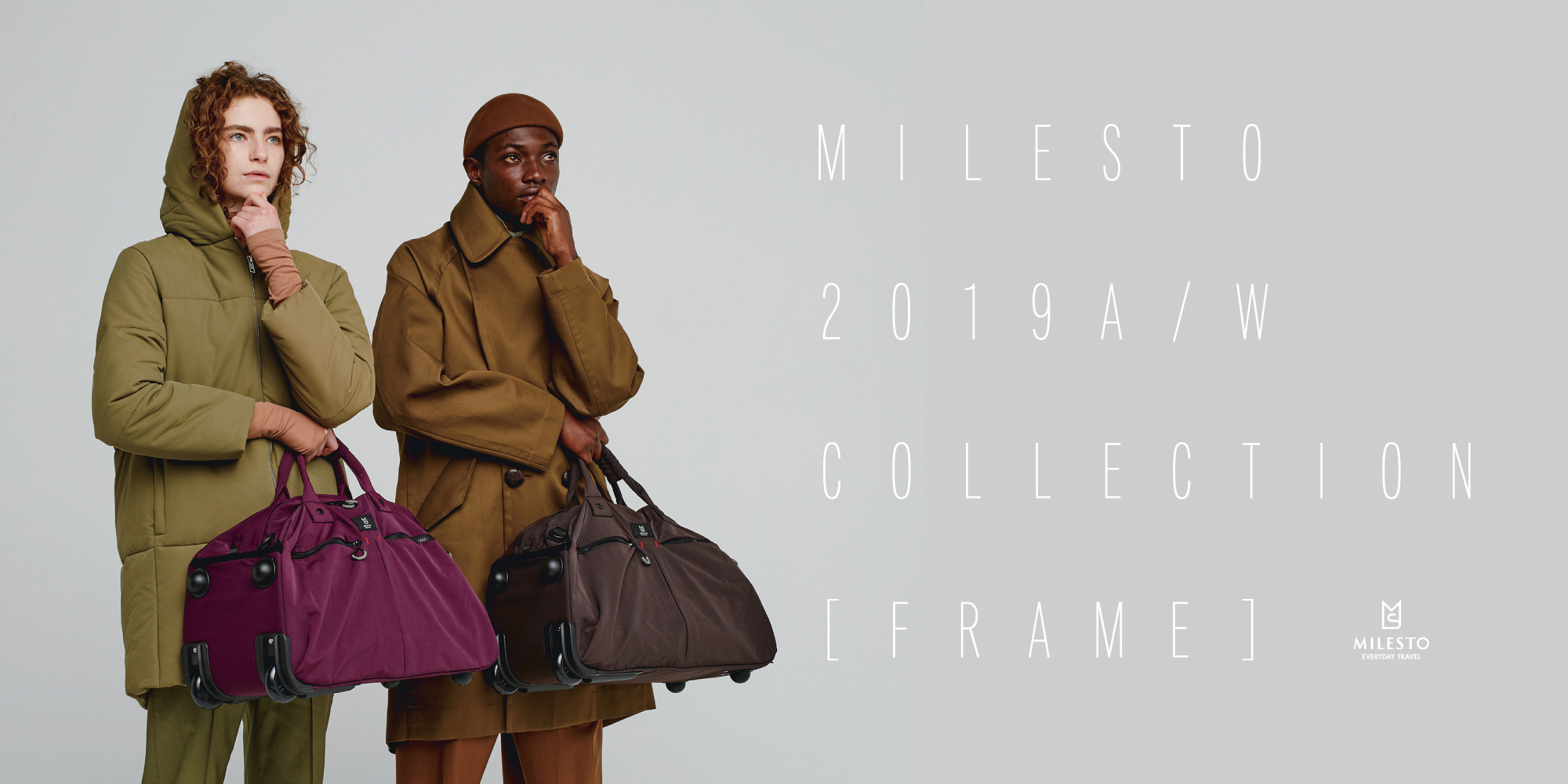 MILESTO 2019A/W COLLECTION [FRAME]